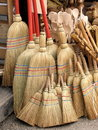 Brooms Stock Photo