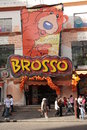 Brosso fast food restaurant in la paz bolivia popular south america Royalty Free Stock Photos
