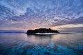 Brother desert island El Nido Palawan Philippines Royalty Free Stock Photo