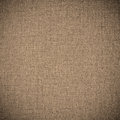 Brown abstract linen background or grid pattern textile texture Royalty Free Stock Photo