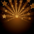 Brown background with stars Royalty Free Stock Photo