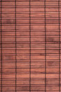 Brown bamboo mat background Stock Photo