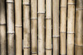 Brown bamboo wall background with retro tone Stock Images
