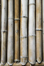 Brown bamboo wall background with retro tone Stock Photography