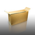 Brown box. Stock Photography