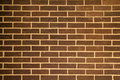 Brown Brick Background Stock Photo