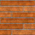 Brown brick wall Royalty Free Stock Photo