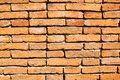 Brown brick wall Stock Photos
