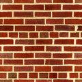 Brown brick wall seamless texture Royalty Free Stock Image