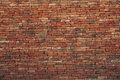 Brown brick wall use as multipurpose background backdrop Stock Photo