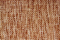 Brown Canvas Texture Royalty Free Stock Photography
