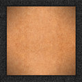 Brown carton background Royalty Free Stock Photos