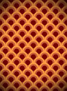 Brown circle vintage pattern Royalty Free Stock Image