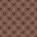 Brown color diamond shape seamless pattern this illustration is drawing and line in with symmetry Stock Photo