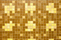 Brown Color Mosaic Background ...