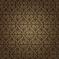 Brown colors art nouveau style pattern design original pattern and symbol series Stock Images