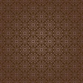 Brown colors asian damask pattern korean traditional pattern de design series Stock Photos