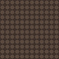 Brown colors geometric pattern design original and symbol series Royalty Free Stock Photo