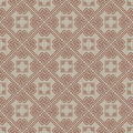 Brown colors plaid pattern korean traditional design series Royalty Free Stock Photos