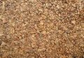 Brown cork wood background Stock Photography
