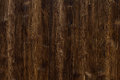 Brown dark wooden floor or wall. Backgrounds and texture concept Royalty Free Stock Photo