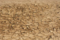 Brown dryness and arid ground a close up of Stock Images