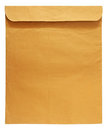 Brown envelop Royalty Free Stock Photo