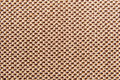 Brown fabric texture clothes background close up Royalty Free Stock Image