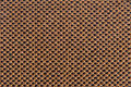 Brown fabric texture clothes background close up Royalty Free Stock Photo