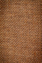 Brown fabric texture detail Royalty Free Stock Photo