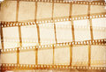 Brown film strip Royalty Free Stock Image