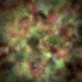 Brown green red painted background illustration of a abstract Royalty Free Stock Images