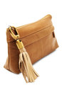 Brown handbag Stock Photo