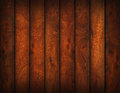 Brown hardwood floor d isolated Royalty Free Stock Image