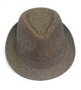 Brown hat Royalty Free Stock Image