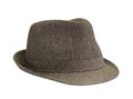 Brown hat Royalty Free Stock Photo