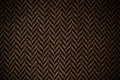 Brown knited scarf Royalty Free Stock Images