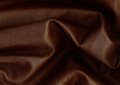 Brown leather background of creased Royalty Free Stock Image