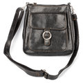 Brown leather handbag Royalty Free Stock Photos