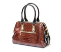 Brown Leather Ladies Handbag Royalty Free Stock Photography