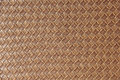 Brown leather square woven weaved pattern Royalty Free Stock Photo
