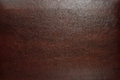 Brown leather texture as background for your design Royalty Free Stock Image