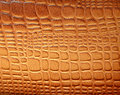 Brown leather texture with patterns Royalty Free Stock Photos