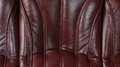 Brown leathers texture close up of sofa background Royalty Free Stock Photo