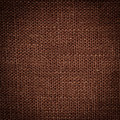 Brown linen texture closeup backdrop design Stock Photography