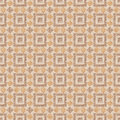 Brown marble mosaic pattern texture. Royalty Free Stock Photos