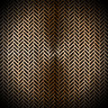 Brown metal grid metallic abstract background with and blacks holes Royalty Free Stock Image