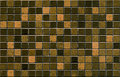 Brown mosaic tile pattern seamless Stock Photos