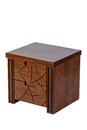Brown nightstand Royalty Free Stock Photo