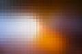 Brown Orange White Mosaic Squa...